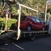 平塚市から法人名義の車検切れ車をレッカー車で廃車の引き取りしました。