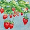 苺の絵が完成しました〜実りの多い楽しい新年を迎えられますように〜