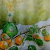 2016年:10月 『枝付きの柿』