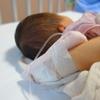 赤ちゃん発熱により入院しました