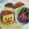 【レシピ】ハロウィンスイーツ*そば粉と米粉のパンケーキ*卵なし・ベーキングパウダーなし*
