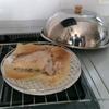 マグロのカマ焼き、ノブヒェン窯