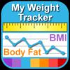 """体重を記録してダイエットするアプリ""""My Weight Tracker, BMI"""""""
