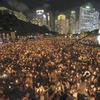 天安門事件25周年香港、台湾、東京