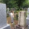 4485 母と墓参り