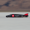★ガイ・マーティン トライアンフを操縦し、サルトフラッツで441km/hを記録