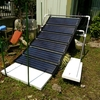 太陽光発電の出力のグラフ: 8月 ( 2016/08/06 - 09/02 )