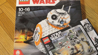 【LEGO】SW「75187:BB-8」やらニンジャゴー「70676:巨神メカ タイタンウィング」を購入した!
