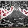 ギャラリー・オカベの番留京子版画展「be born again」を見る