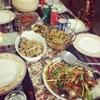 バングラ人と夕食