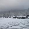スガモリ峠で雪中ピクニック