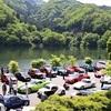 ● 草木ダム(群馬県みどり市)でヒストリックカーの草の根ミーティング