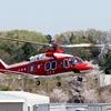2017年4月14日(金)調布飛行場 山形県防災航空隊 JA15YA「もがみ」