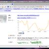 Pathtraq API を使って、はてブにアクセスチャートを出す Greasemonkey を作りました!