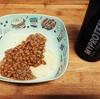 男の間食!超簡単納豆on餅!ナイスな栄養バランス
