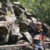 【カンボジア シェムリアップ】2010年1月2日 ポル・ポト派に破壊された遺跡ベンメリア