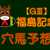 【GⅢ】福島記念 結果 回顧