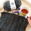 アラン編みのロングマフラー