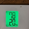 きゅうりモグモグダイエット 8日目。前回より0.5キロ痩せました!全部でマイナス1.45キロ!