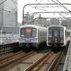 上海地下鉄3・4号線の高架共用区間(と、鉄道書店)