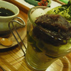【写真修正】 コーヒーとスィーツのセット