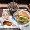 渋谷区渋谷の「ウェンディーズ・ファーストキッチン 渋谷宮益坂店」でモーニングサンドBLTハッシュセット