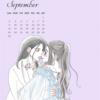 イラスト・カレンダー【9月】