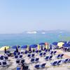 酷暑のビーチ  Cannes3