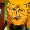 【トラ】いまもっとも有名なアノ人のお面を作ってカラオケで被ってみた【ンプ】