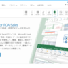 PCA Accounting & Sales Driver の初期設定