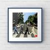 """エクセル画で""""Abbey Road"""""""
