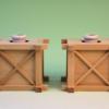神道祭壇や八足台を使うなら木製花台の榊立てを使うほうが良い