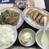 ボリュームランチ(ニラレバ定食)