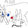 【マンガ】 初めての空手大会 技を封じろ!連続技の攻防!防御を固めてカウンターを狙う作戦の結果は?