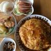 「五目かに玉の素」を使って天津飯♪で簡単料理