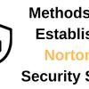 Methods to Establish Norton Security Scan