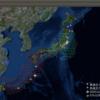 2017-11-01 地震の予測マップ ()