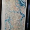 柏の歴史地図 市役所ロビーにて