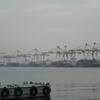 名古屋港のコンテナターミナル