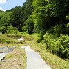 草刈りが楽になり見栄えもいい★山村の畑の獣害防止柵を撤去しました。