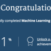 Coursera の Machine Learning 完走
