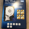 WD Blue SATA3 4TBを買うもタイミングを逸する