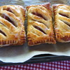 食材整理を兼ねて...パン焼きアイスにアップルパイに...季節外れのシュトーレン☆