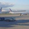 パリ発大西洋路線の動き:欧州発の大西洋路線にB787が登場