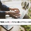 ブログ更新3ケ月! 11月のアクセス数とアドセンス状況!!