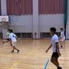 実業サッカー部、県立大学サッカー部とのトレーニングマッチ