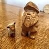 木彫りのあとぐちさん