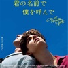 【映画】君の名前で僕を呼んで 〜愛の美しさ〜