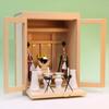 小さな箱宮で祭る神棚の祭り例 箱宮10号一社 尾州桧版