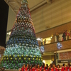 アミュプラザ長崎クリスマス点灯式@長崎駅前かもめ広場18:20